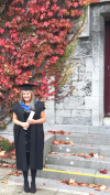 Julianne on the occasion of her graduation with a Diploma in Italian language and culture from NUI, Galway on 17 October, 2015.